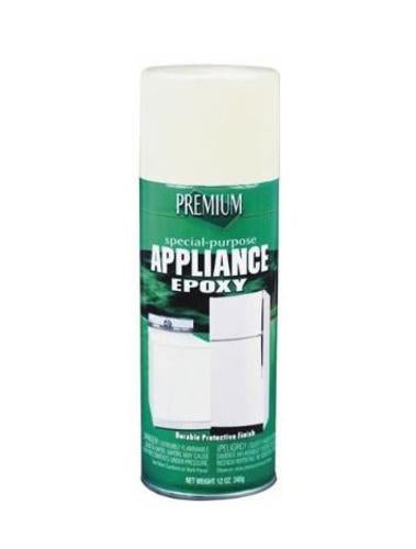 Premium SP1040 Appliance Spray, 12 Oz, Gloss White