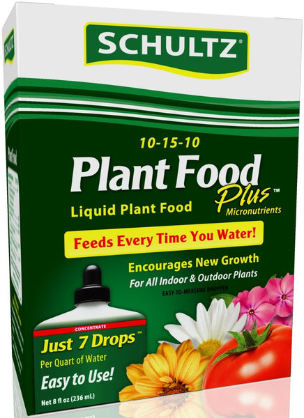 Schultz SPF45170 All Purpose Liquid Plant Food Plus, 8 Oz