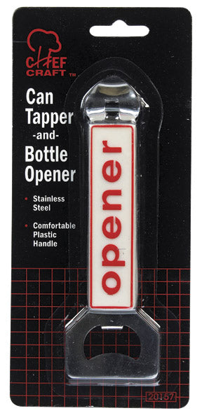 Chef Craft 20157 Can Tapper/Bottle Opener