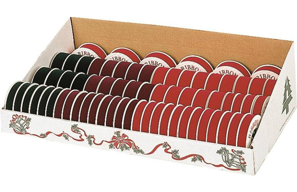 Holiday Trim 7411 Ribbon Velvet Assortment, 67 Piece
