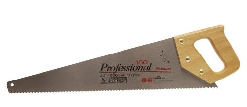 Nicholson NS1503 Professional Standard Tooth Handsaw, 20""
