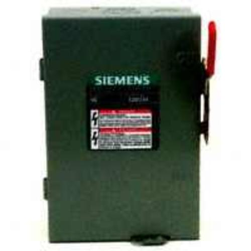 Siemens LF211NU Indoor Fusible Safety Switch, 30 Amp