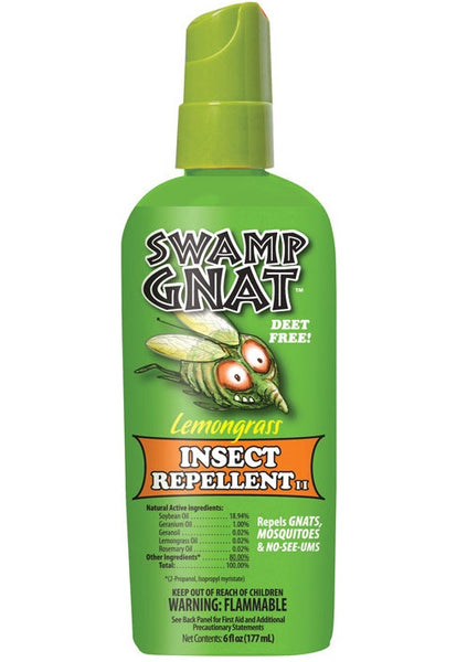 Swamp Gnat SNAT-6 Deet Free Insect Repellent, 6 Oz