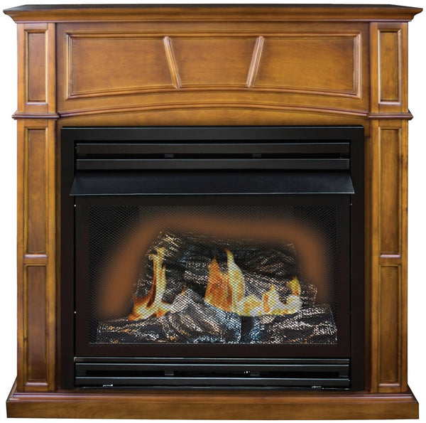Kozy World GFD3280R Fireplace Gas, 32 BTU's