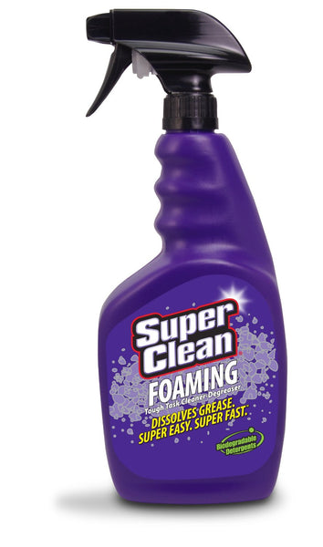 Super Clean 301032 Foaming Degreaser, 32 Oz
