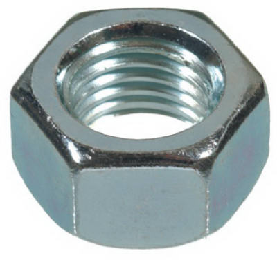 Hillman 150030 Hex Nut Coarse Thread 1-8, 10 Pack