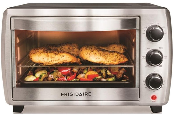 Frigidaire FRCN06K5NS Classic Convection Toaster Oven, Grey