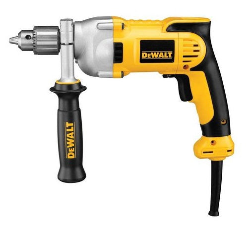 "DeWalt  DWD210G Heavy Duty Corded Drill, 120 V, 1/2"" Keyed Chuck"