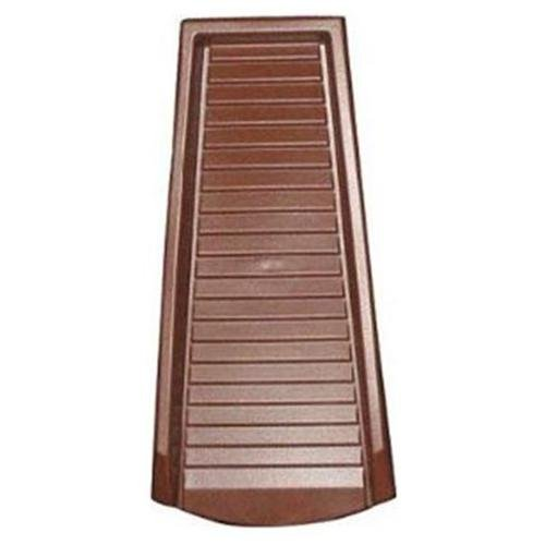 "Amerimax 3001-12 Heavy Duty Plastic Splash Block, 24"", Brown"