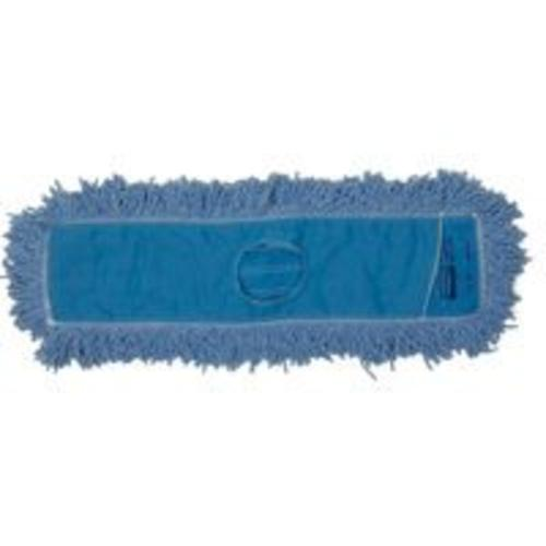 "Newell Rubbermaid J25300BL00 Blend Dust Mop, 5"" x 24"", Blue"
