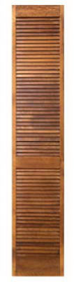 """Masonite"" Full Louver Bi-Fold Door 36"" x 80"""