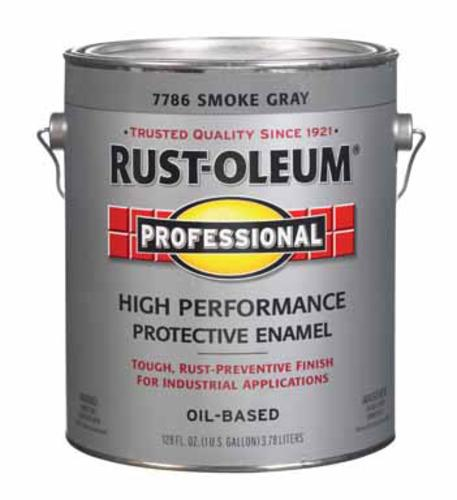 Rust-Oleum 7786-402 High performance protective Enamel, Smoke Gray, One Gallon