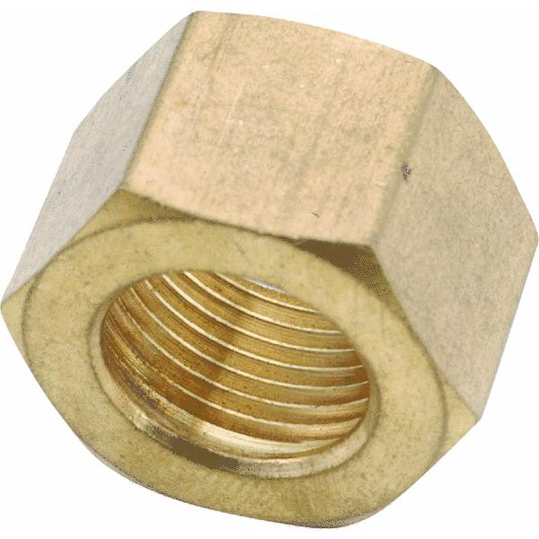 Anderson Metals 730061-04 BRASS COMPRESSION FITTINGS 1/4""