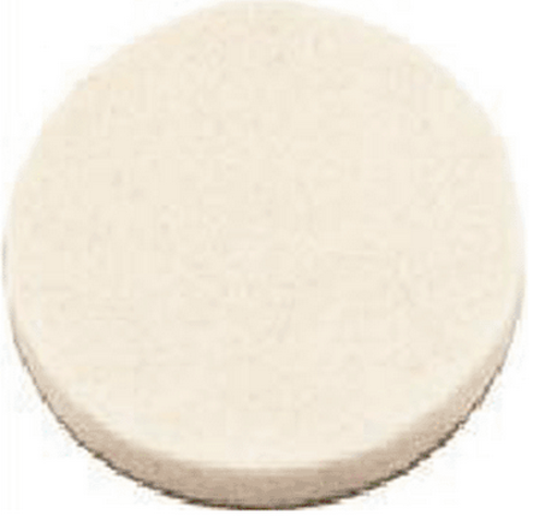 Stanley 849210 Flexi-Felt Round Self-Adhesive Pads, Oatmeal, 1-1/2""