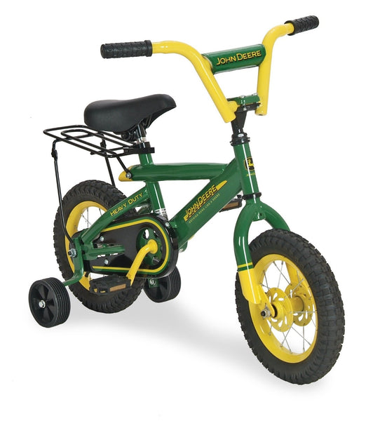 John Deere 34938 Bicycle With Training Wheel, 12""