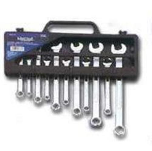 Mintcraft TR-H1101 Metric Combo Wrench Set, Storage Case, 11 Piece