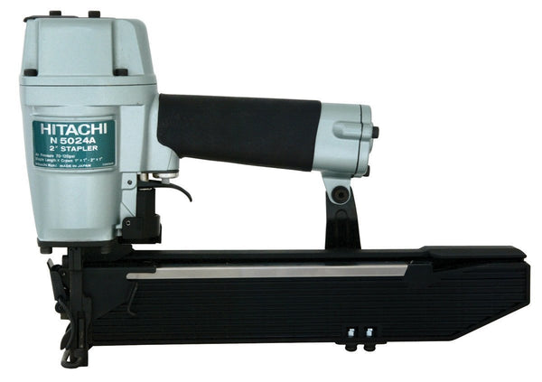 Hitachi N5024A2 Pneumatic Wide Crown Stapler, 16 Gauge, 1""