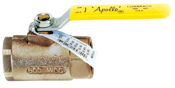 Apollo 70LF10701 Ball Valves, 1-1/2, Bronze