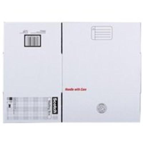 "Scotch 8008.8FB Folded Shipping Box, 8""x8""x8"""