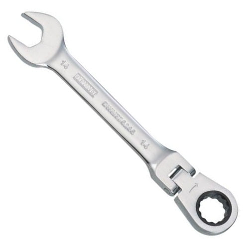 DeWalt DWMT75205OSP Metric Flex Head Combination Ratchet Wrench, 14 mm