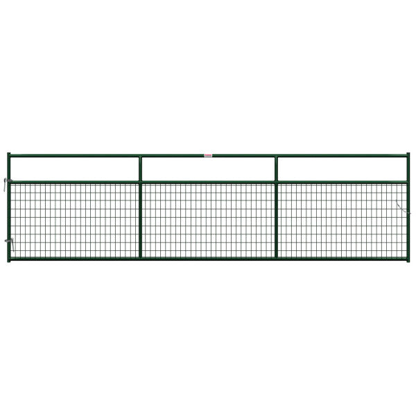 Behlen 40132162 Wire-Filled Gate, Green, 16'