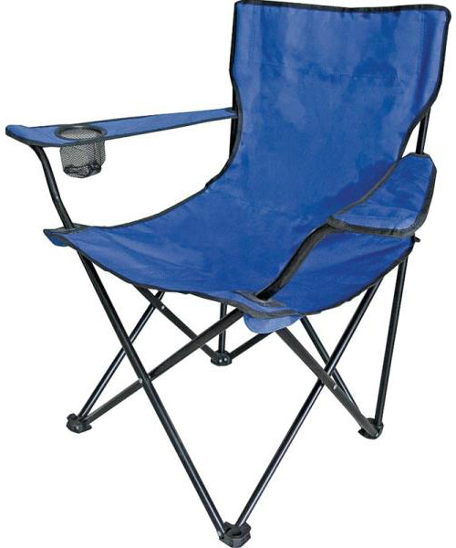 Mintcraft GB-7230 Camping Chair With Bag, Plastic, Blue