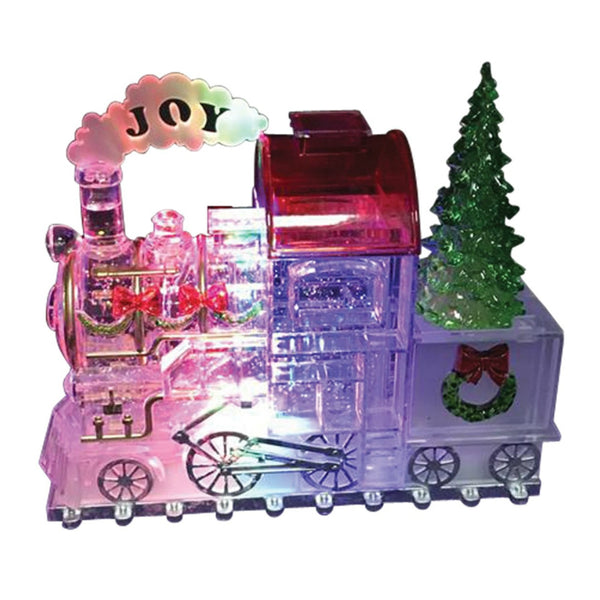 Santas Forest 21307 LED Ornament Train, 7-3/4 In