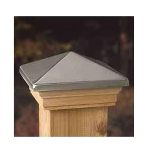 "Universal Forest Products 72393 Stainless Post Cap, 6"" x 6"", Cedar"