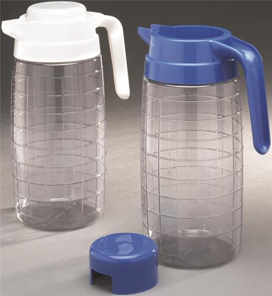 Arrow Plastic 00230 Clear View Pitcher, 72 Oz.