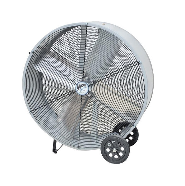 "MaxxAir BF36DD Direct Drive Barrel Fan, 36"", Red"