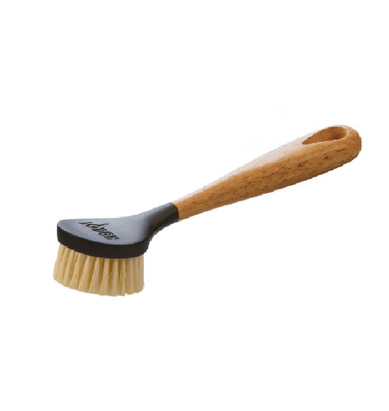 Lodge SCRBRSH Wooden Handle Scrub Brush, 10 Inch