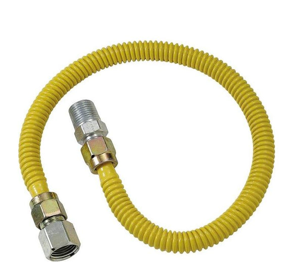 BrassCraft CSSD54-30 Gas Appliance Connectors, 30""
