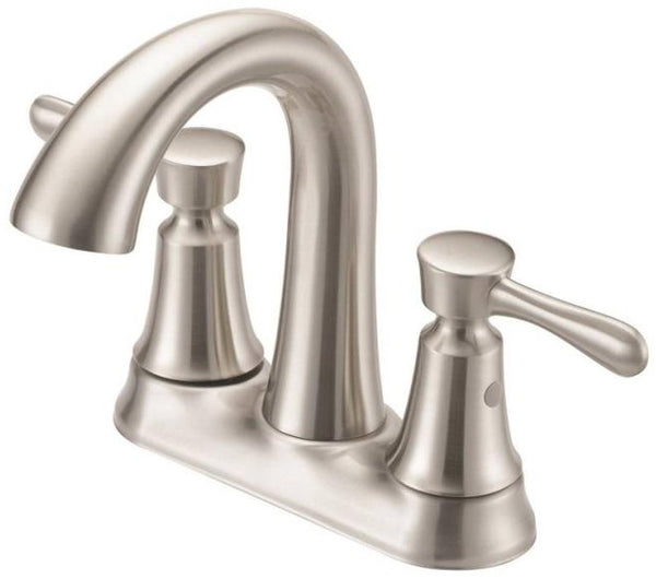 Boston Harbor F51B0035NP Two Handle Lavatory Faucet, Brushed Nickel