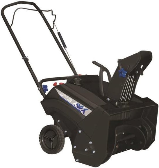 Aavix AGT1420 Single Stage Recoil Start 87cc Gas Snow Blower, Black