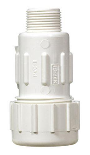 King Brothers CPA-0750 Sch 40 Pvc Compression Adapter, 3/4""