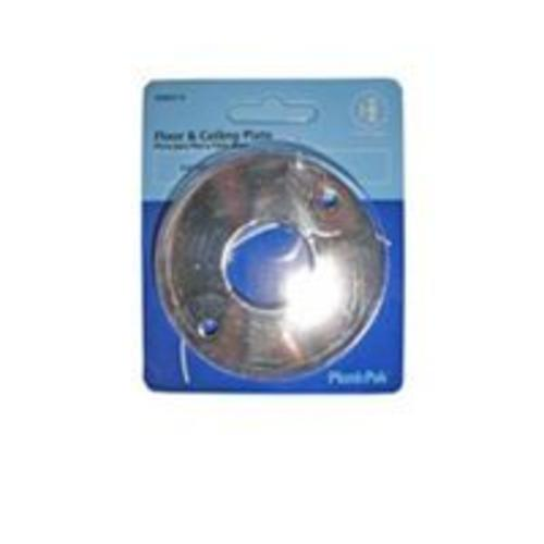 Plumb Pak PP857-4 Chrome-Plated Floor & Ceiling Plate, 1-1/2""