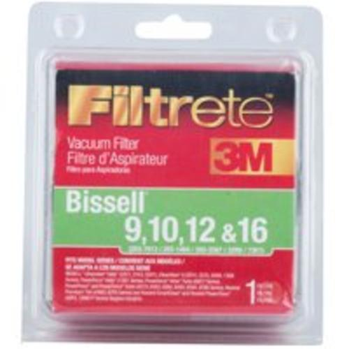 Filtrete 66809B-2 Bissell Type 9/10/12/16 Vacuum Cleaner Filter, 1-Count