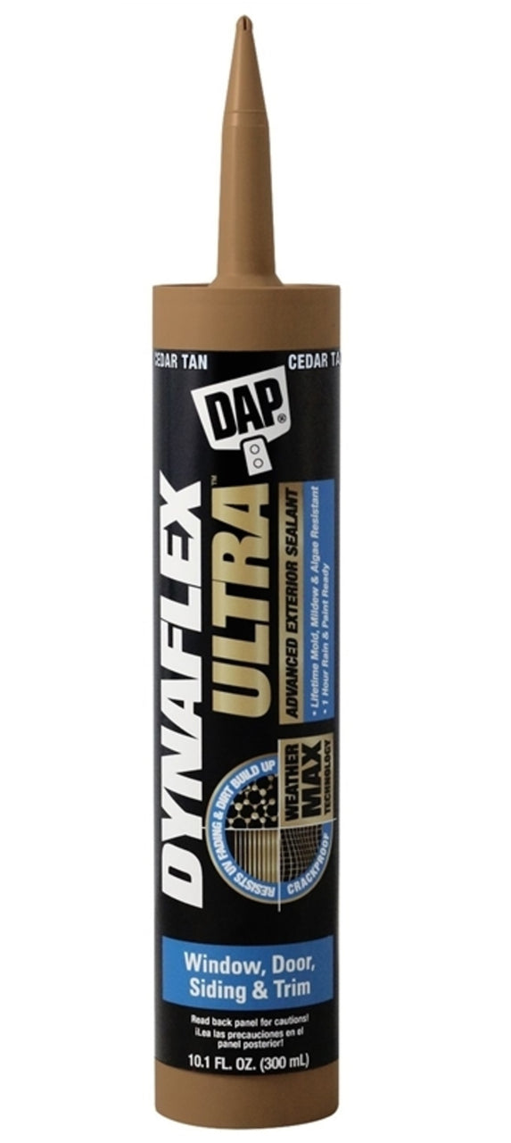 Dap 7079818221 Dynaflex Ultra Advanced Exterior Sealant, 10.1 Oz