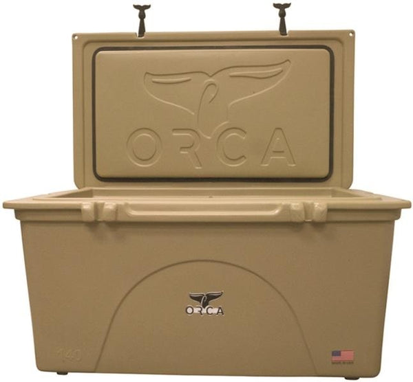 ORCA ORCT140 Insulated Cooler, 140 Quart, Tan