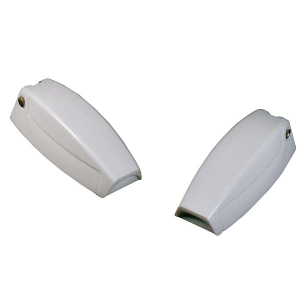 Us Hardware RV-1218C Baggage Door Catch, White
