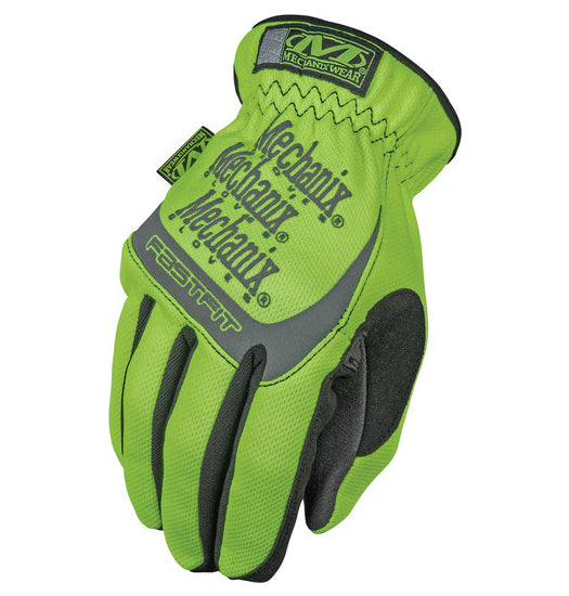 Mechanix Wear SFF-91-009 Safety FastFit Glove, Medium, Hi-Viz Yellow