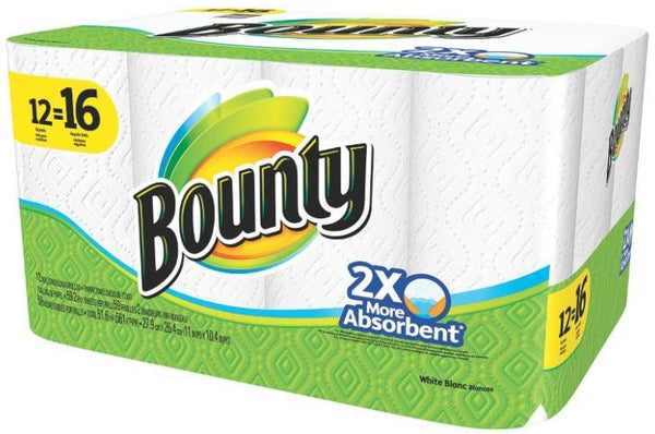 bounty paper towels bounty 94998 paper towels white toolboxsupply 31051