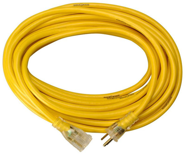 Yellow Jacket 2883AC Commercial Extension Cord, 25', Yellow