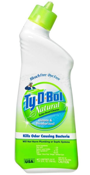 Ty-D-Bol 375012.12 Natural Toilet Bowl Cleaner, 24 oz