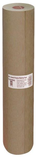 "Trimaco 12912 Light Weight Masking Paper, 12"" x 60-Yard, Brown"