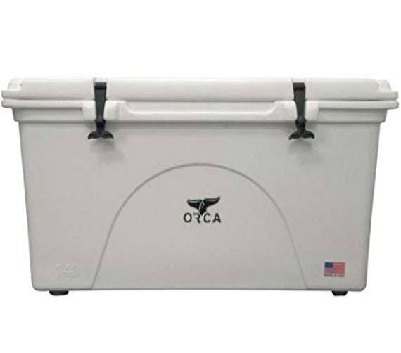 ORCA ORCW140 Insulated Cooler, 140 Quart, White