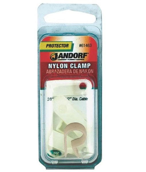 "Jandorf 61463 Nylon Clamp, 3/8"" x 1/2"""