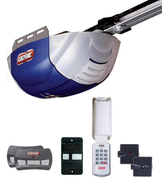 Genie 37000R/38957S Chain Drive Garage Door Opener, 12 Horsepower