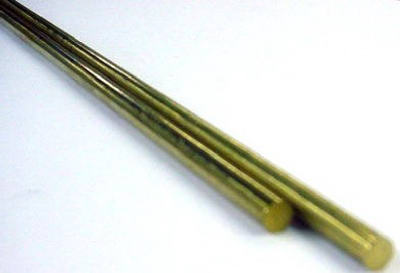 "K&S 1160 Solid Brass Rod, 1/16"" x 36"" (2-Pack)"
