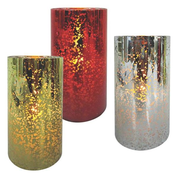 Holiday Basix E03406 LED Candle Tealight, Glass